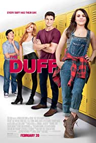 Ken Jeong, Mae Whitman, Robbie Amell, and Bella Thorne in The Duff (2015)