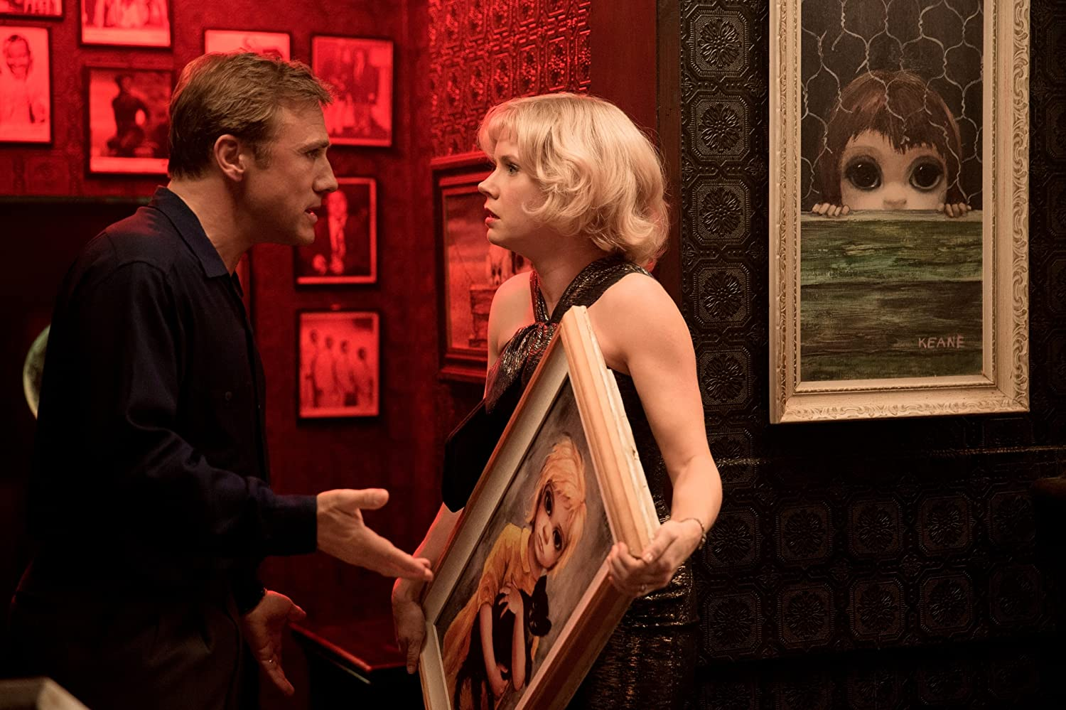 Amy Adams and Christoph Waltz in Big Eyes (2014)