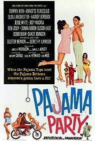 Pajama Party (1964) Poster - Movie Forum, Cast, Reviews