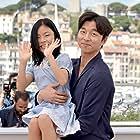 Su-an Kim and Gong Yoo at an event for Busanhaeng (2016)
