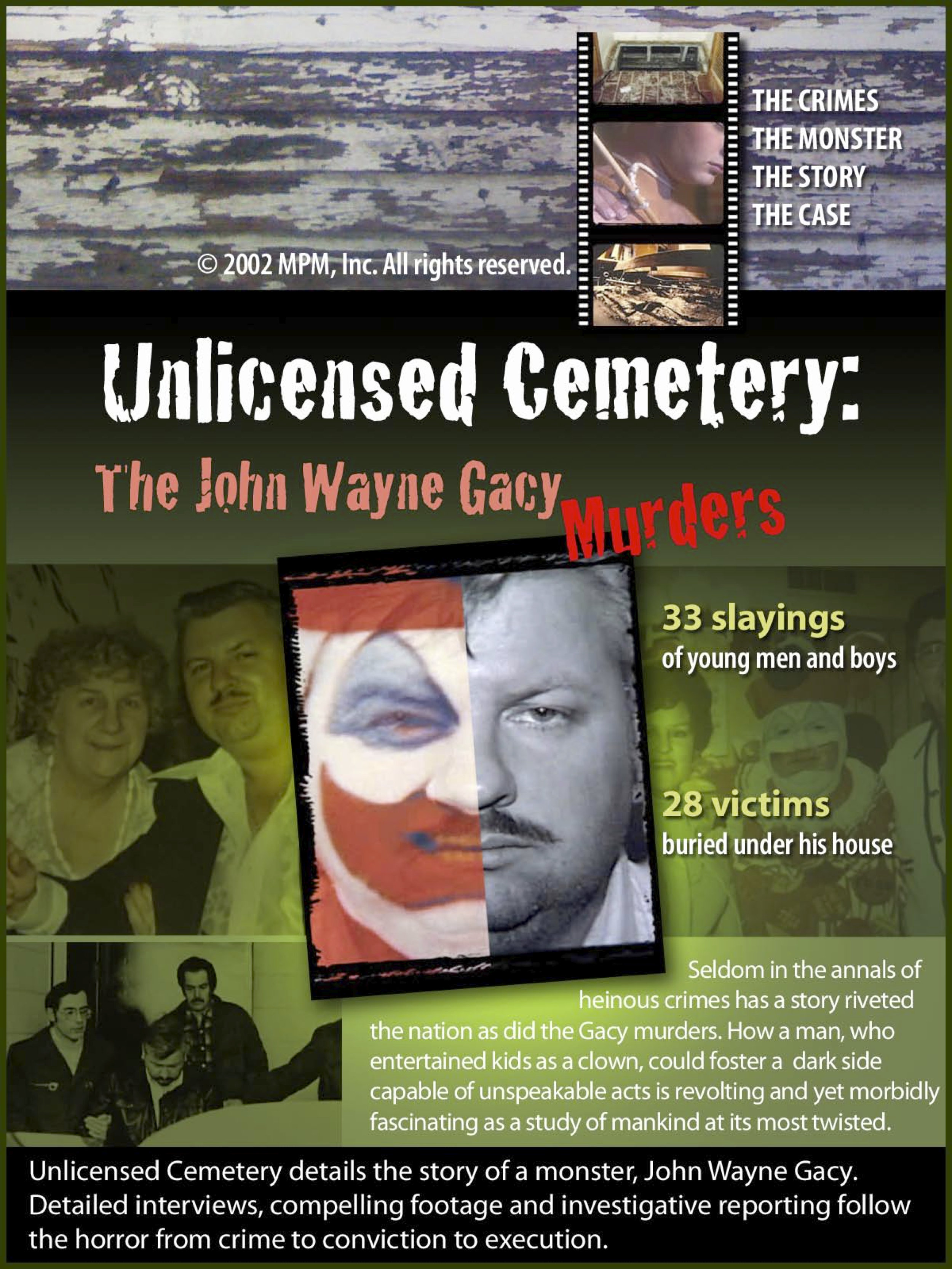 Unlicensed Cemetery: The John Wayne Gacy Murders (Video 2002