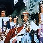 Frantisek Filipovský, Jorga Kotrbová, and Jan Skopecek in Honza málem králem (1977)