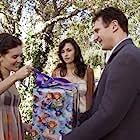 Famke Janssen, Liam Neeson, and Maggie Grace in Taken (2008)