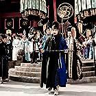Carina Lau, Shaofeng Feng, Mark Chao, Chien Sheng, and Kenny Lin in Di Renjie: Shen du long wang (2013)
