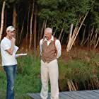"""Writer/Director Dan Hannon and David Morse on location for """"The Pond"""""""
