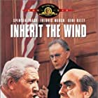 Spencer Tracy, Fredric March, and Harry Morgan in Inherit the Wind (1960)