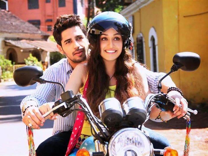 Sidharth Malhotra and Shraddha Kapoor in Ek Villain (2014)