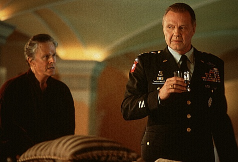 Jon Voight and Robert Culp in Most Wanted (1997)