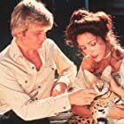 Barbara Carrera and Michael York in The Island of Dr. Moreau (1977)