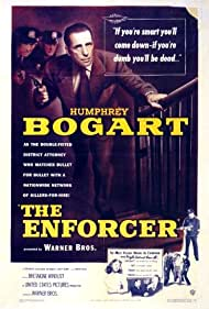 Humphrey Bogart and Patricia Joiner in The Enforcer (1951)