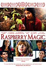 Raspberry Magic Poster