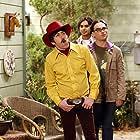 Johnny Galecki, Simon Helberg, and Kunal Nayyar in The Big Bang Theory (2007)