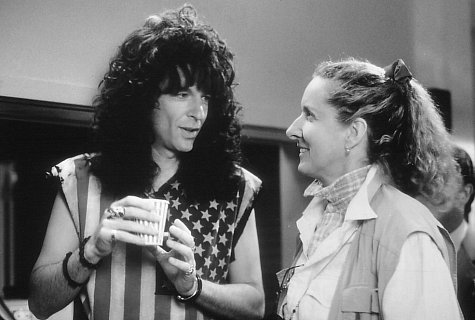 Howard Stern and Betty Thomas in Private Parts (1997)