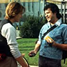Kevin Bacon and Paul Rodriguez in Quicksilver (1986)