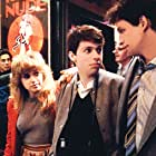 Jon Cryer, Elizabeth Daily, and Peter Frechette in No Small Affair (1984)