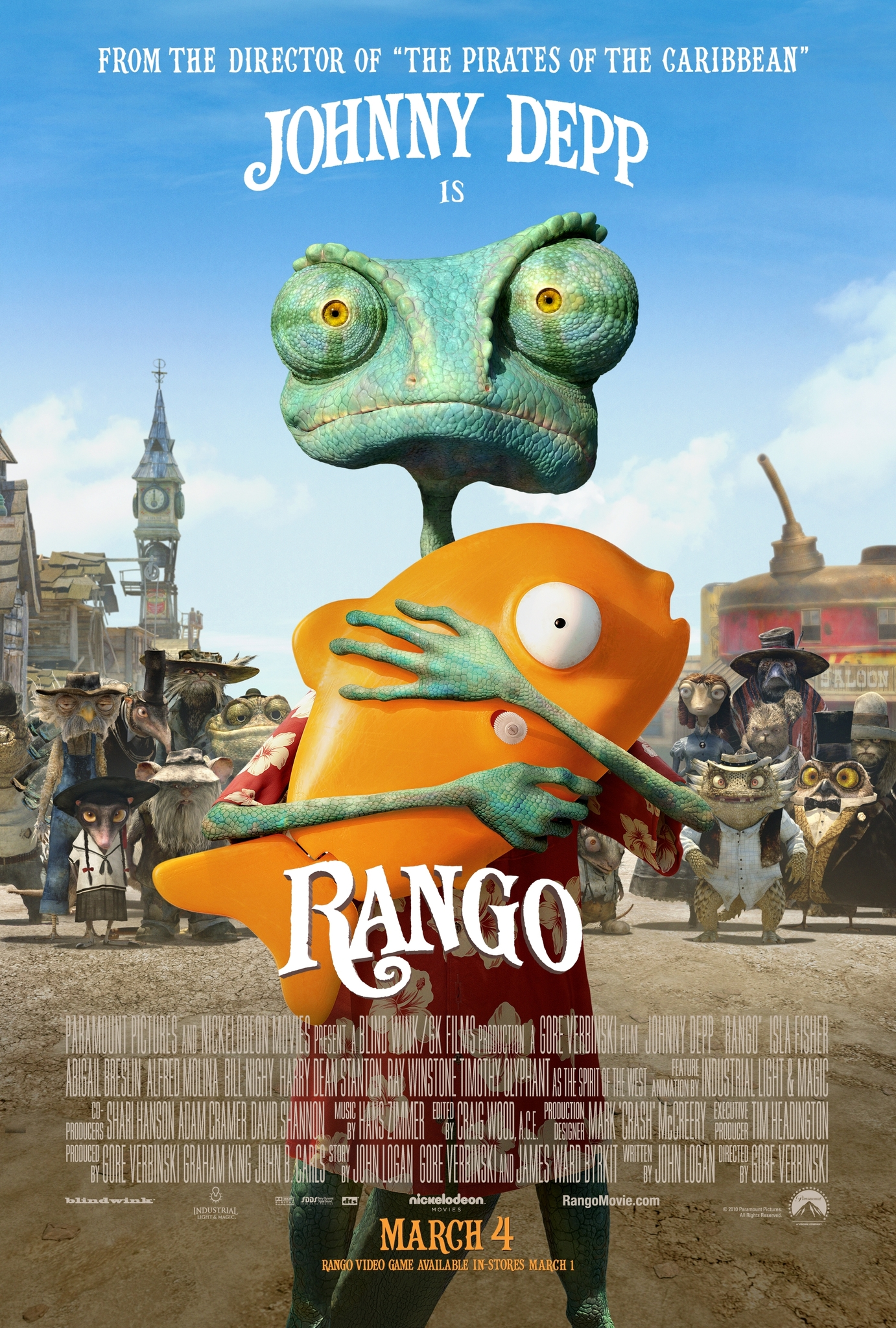 Rango (2011) Bluray 720p Subtitle Indonesia