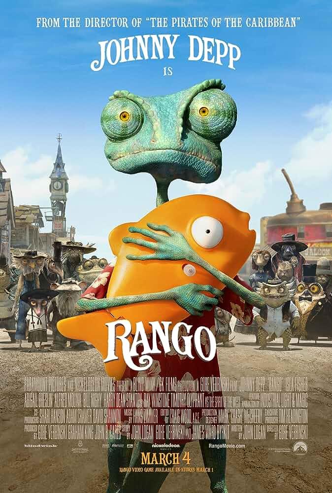 Download Rango (2011) Full Movie 480p [300MB] | 720p [800MB] | 1080p [1.5GB] | Dual Audio {Hindi English}