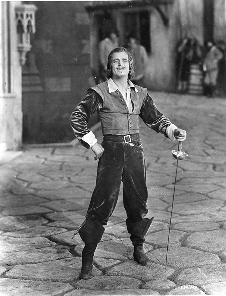 Douglas Fairbanks in The Iron Mask 1929