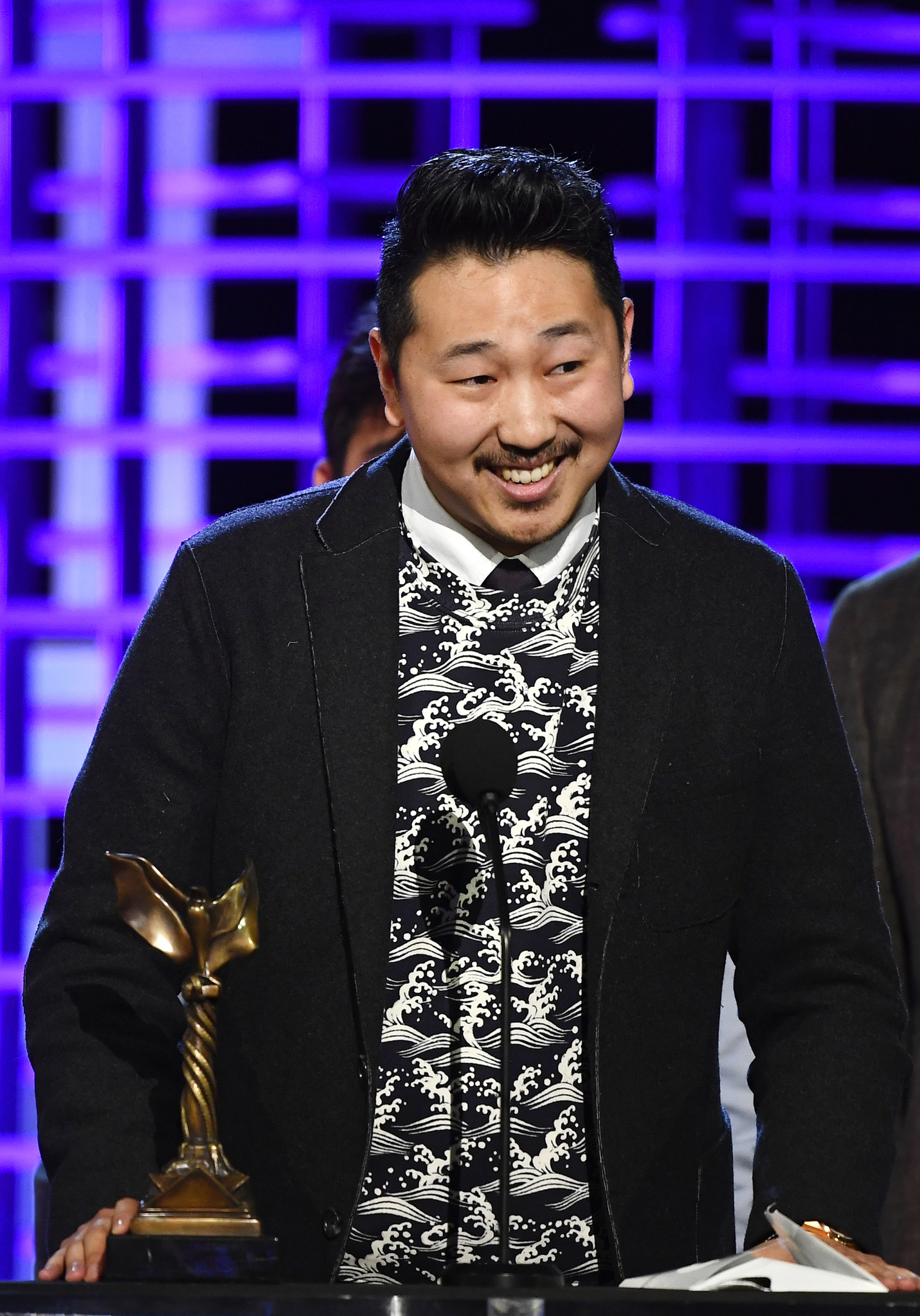 Andrew Ahn at an event for 32nd Film Independent Spirit Awards (2017)