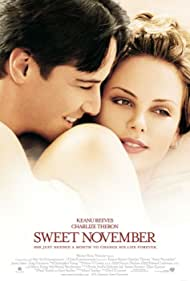 Keanu Reeves and Charlize Theron in Sweet November (2001)