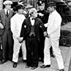 Buster Keaton, Harold Goodwin, and Harry Gribbon in The Cameraman (1928)
