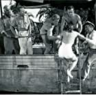 Whit Bissell, Julie Adams, Richard Carlson, Richard Denning, Antonio Moreno, and Nestor Paiva in Creature from the Black Lagoon (1954)