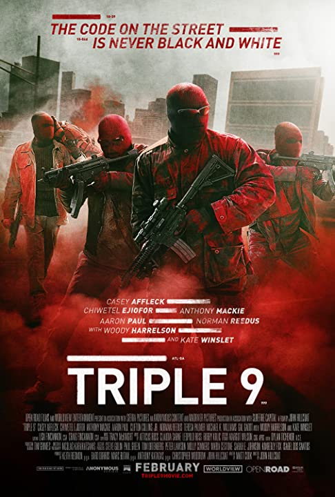 Triple 9 (2016) Hindi Dubbed