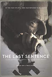 The Last Sentence Poster