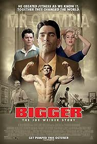 Kevin Durand, Tyler Hoechlin, Julianne Hough, Aneurin Barnard, and Calum Von Moger in Bigger (2018)
