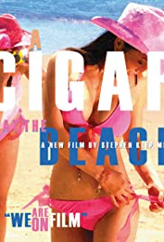 A Cigar at the Beach Poster