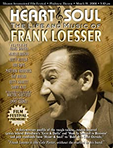 Latest movie trailers download Heart \u0026 Soul: The Life and Music of Frank Loesser [BluRay]