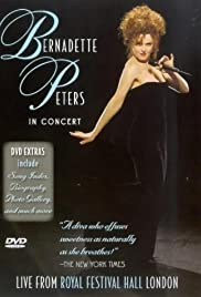 Bernadette Peters in Concert Poster