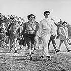 Katharine Hepburn and Babe Didrikson Zaharias in Pat and Mike (1952)