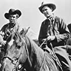 James Stewart and Arthur Kennedy in Bend of the River (1952)