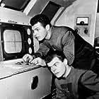 Ed Kemmer and Lyn Osborn in Space Patrol (1950)