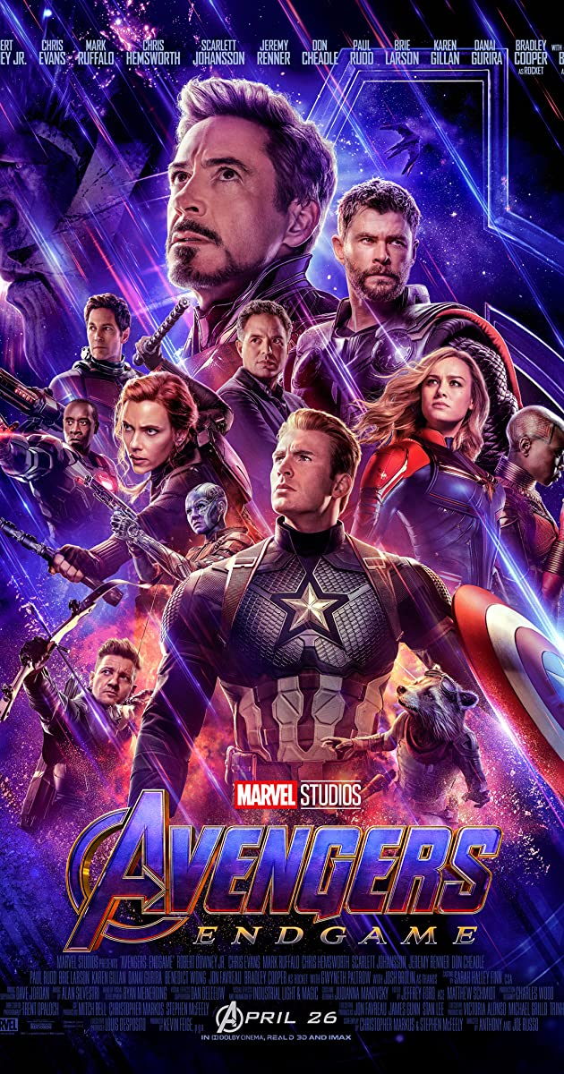 Avengers Endgame (2019) [2160p] [4K] [BluRay] [5.1] [YTS.MX]