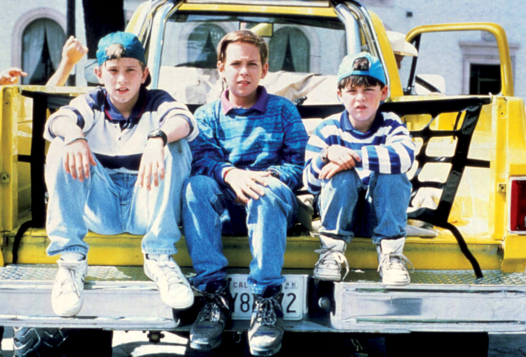 Chad Power, Max Elliott Slade, and Michael Treanor in 3 Ninjas: Knuckle Up (1993)