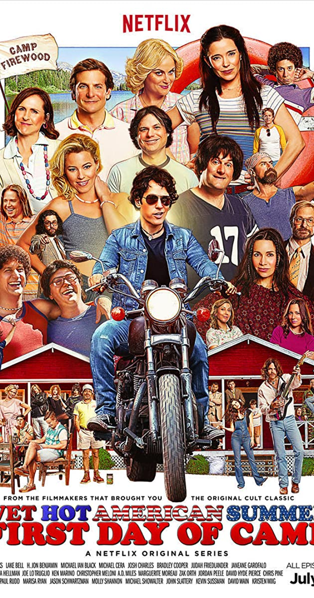 wet hot american summer first day of camp tv series 2015 imdb. Black Bedroom Furniture Sets. Home Design Ideas