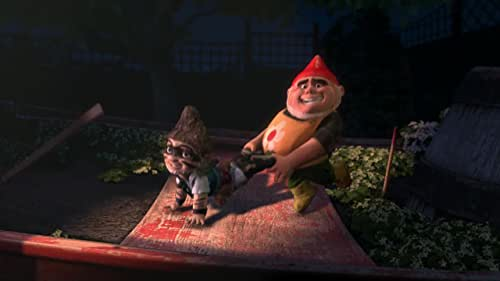 An animated version of Shakespeare's play, where Gnomeo (voice of McAvoy) and Juliet (voice of Blunt) are would-be lovers from rival garden-based families.