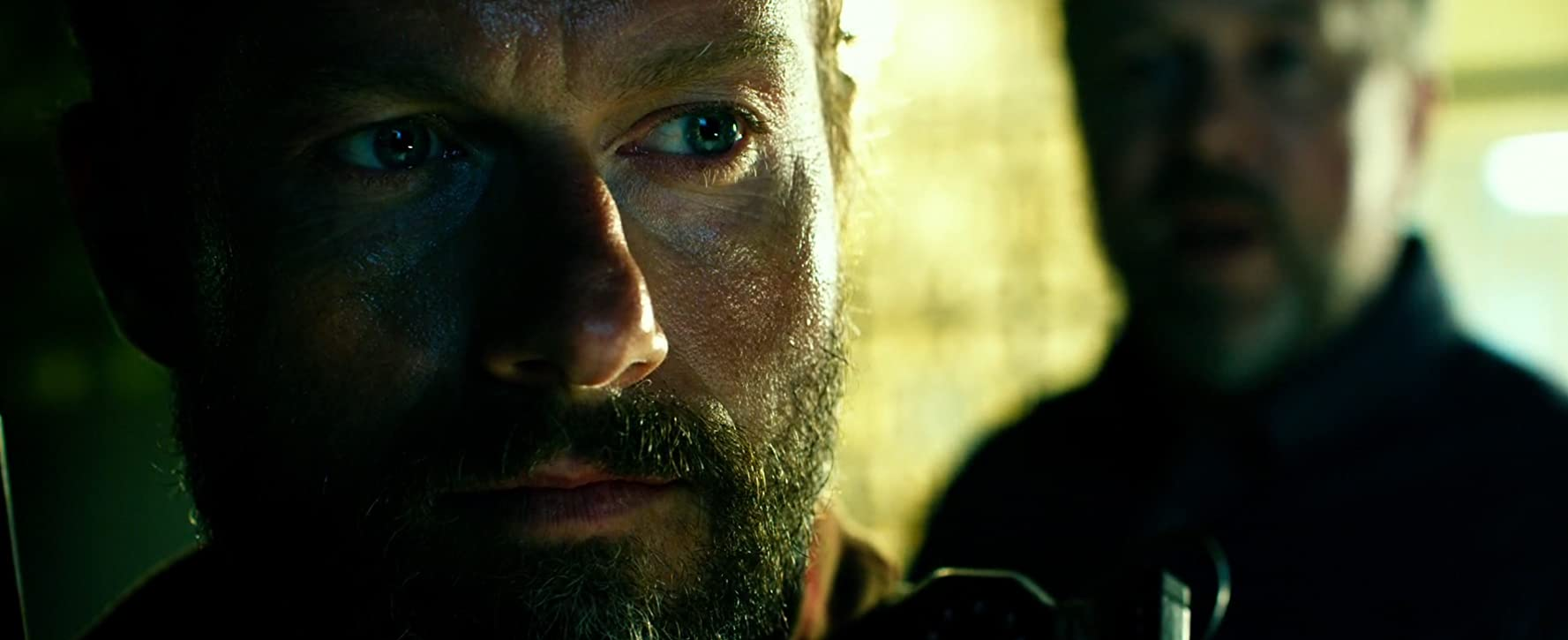 David Costabile and James Badge Dale in 13 Hours (2016)