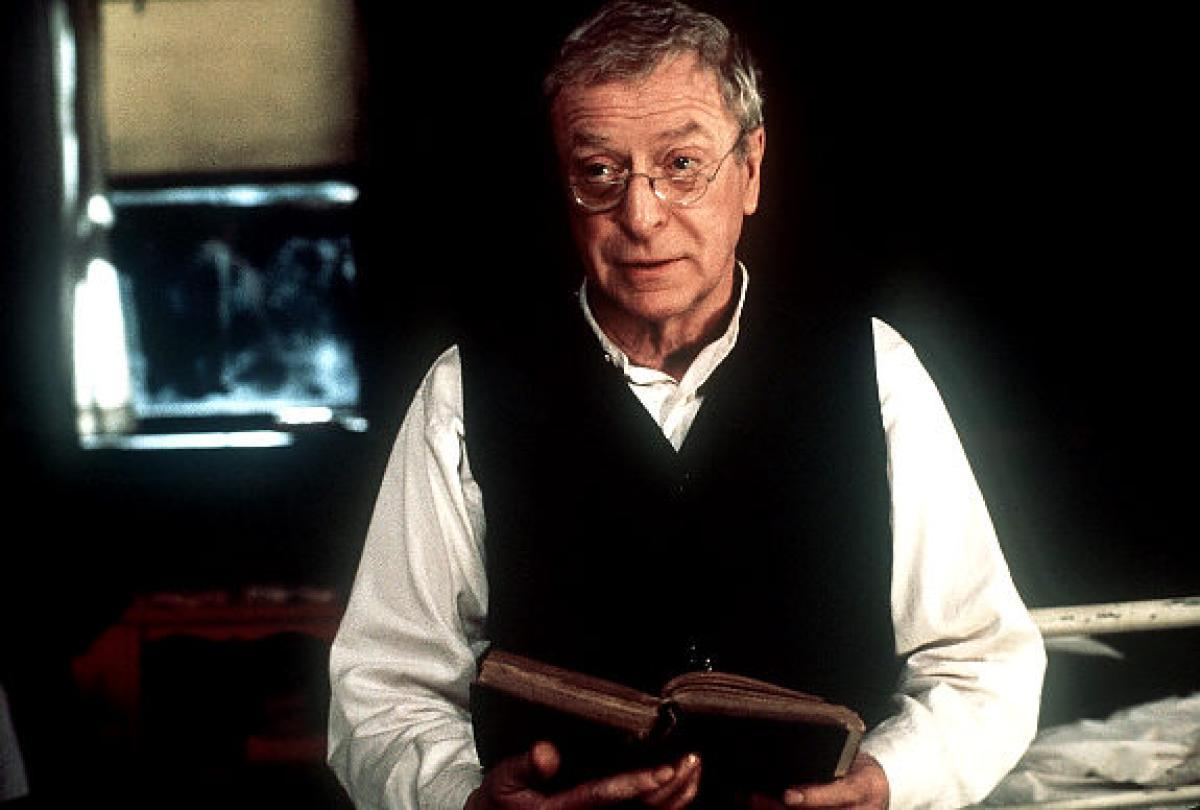 Michael Caine in The Cider House Rules (1999)