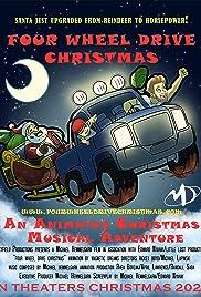 Four Wheel Drive Christmas Poster