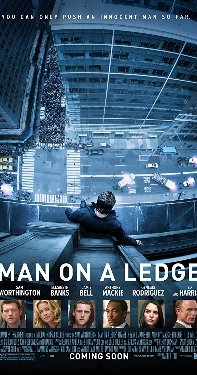 Subtitle of Man on a Ledge