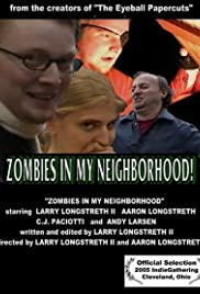 Zombies in My Neighborhood Poster