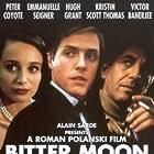 Kristin Scott Thomas, Hugh Grant, Peter Coyote, and Emmanuelle Seigner in Bitter Moon (1992)