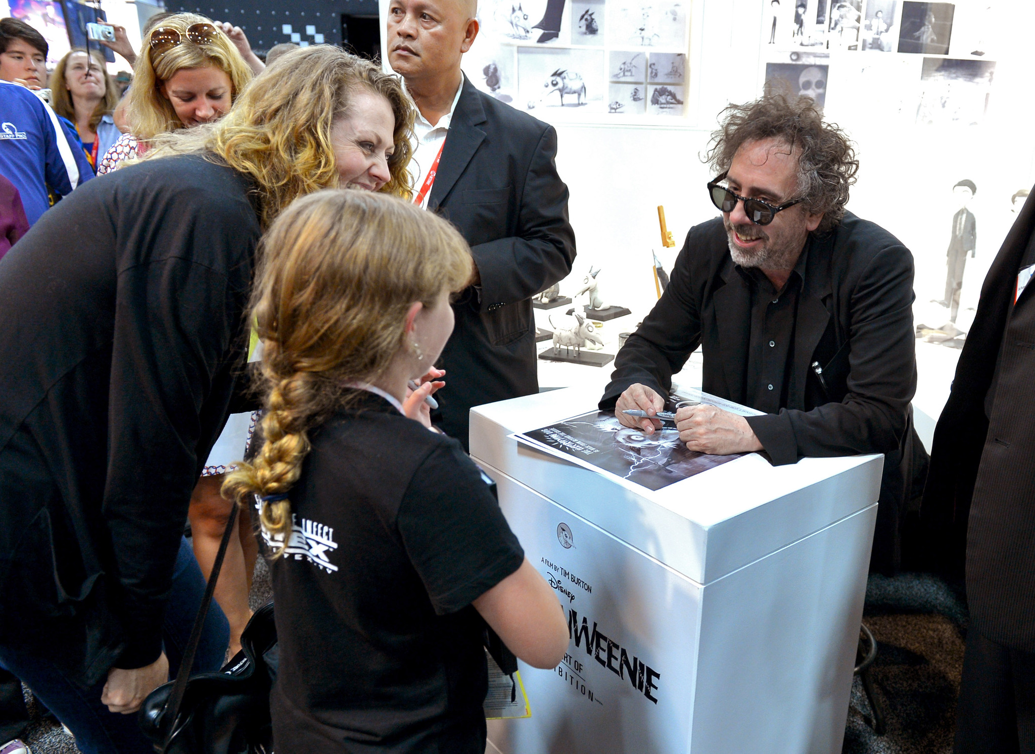 Tim Burton at an event for Frankenweenie (2012)