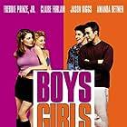 Claire Forlani, Jason Biggs, Freddie Prinze Jr., and Amanda Detmer in Boys and Girls (2000)