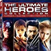 Ben Affleck, Jessica Alba, Jennifer Garner, and Hugh Jackman in Fantastic Four (2005)
