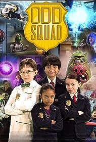 Joshua Kilimnik, Dalila Bela, Sean Michael Kyer, Millie Davis, T.J. McGibbon, and Filip Geljo in Odd Squad (2014)