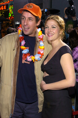 Drew Barrymore and Adam Sandler at an event for 50 First Dates (2004)